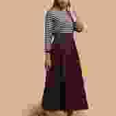 PREORDER: A-Line Flannel Midi Skirt