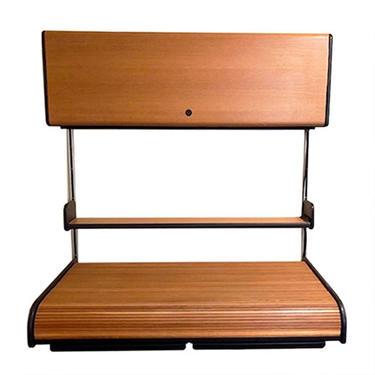 Herman Miller Mid Century Modern Rolltop Desk   Wall Unit   Storage Cabinet