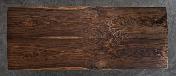 Mid Century Modern Dining Table, Solid Walnut Table, Danish Modern, Industrial Modern by BeautyBreadWoodshop