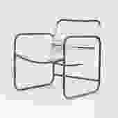 Bronze Patio Lounge Chair by Kipp Stewart Terra