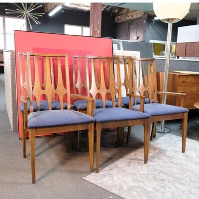 Set of 6 Broyhill Brasilia Dining Chairs