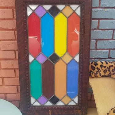 Colorful Leaded glass Panel,