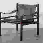Arne Norell Vintage Mid-Century 'Sirocco' Safari Chair