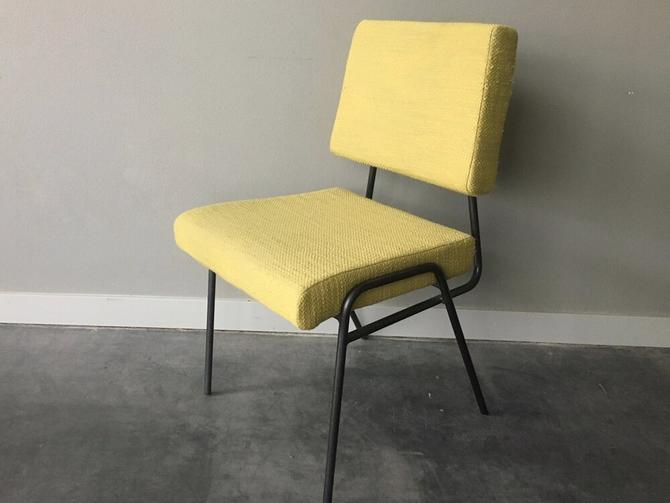 West Elm retro style wire frame chair.