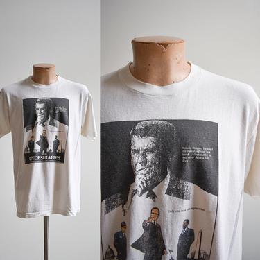 1980s Anti Ronald Reagan Tshirt by milkandice