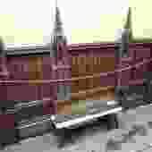 University Temple Mahogany Altarback