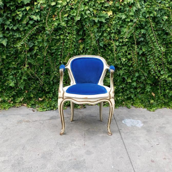 Chateau Bleu Petite Bleu French Baroque Chair