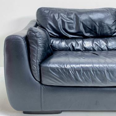 Italian Leather Sofa by BetsuStudio