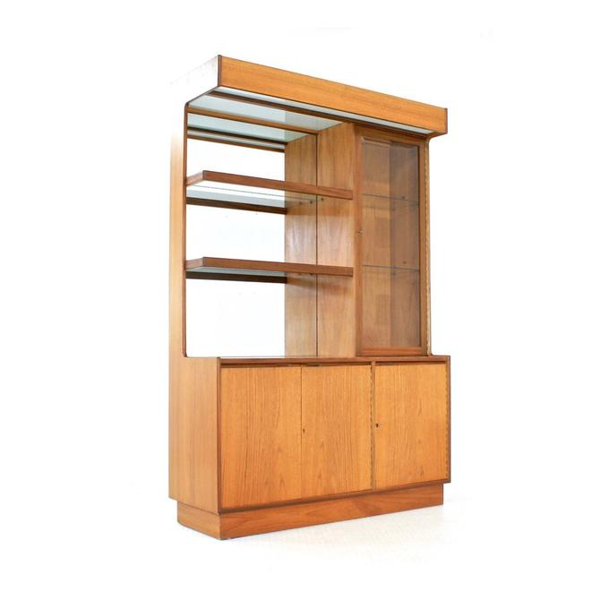 Mid Century Display Cabinet By Turnidge Of London by SputnikFurnitureLLC