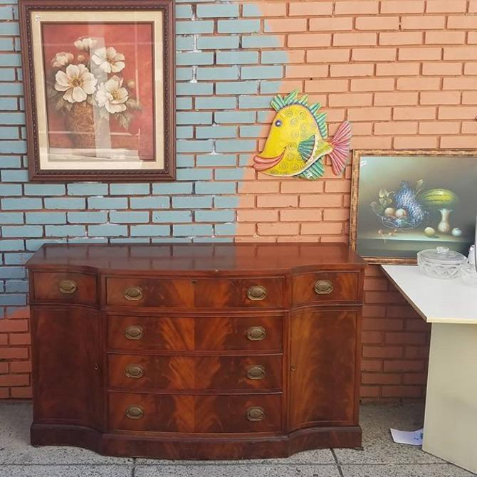 Elegant Mahogany Sideboard