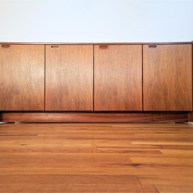 Mid Century Danish Modern Teak Credenza / Buffet / Sideboard by ProRefineFurnishings