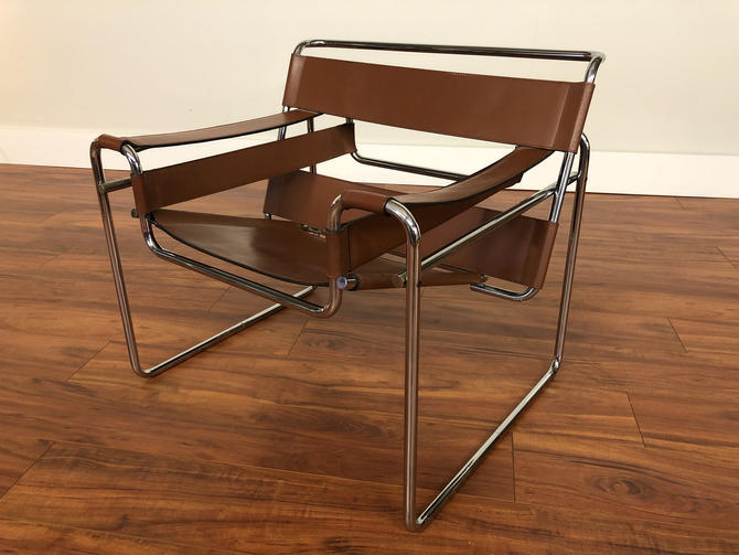 Wassily Chair by Marcel Breuer for Stendig by Vintagefurnitureetc