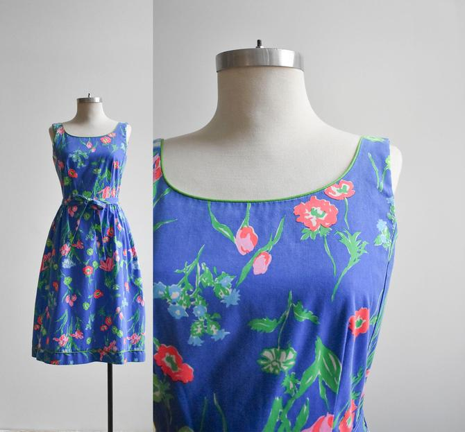 Vintage 1960s Cotton Summer Dress by milkandice