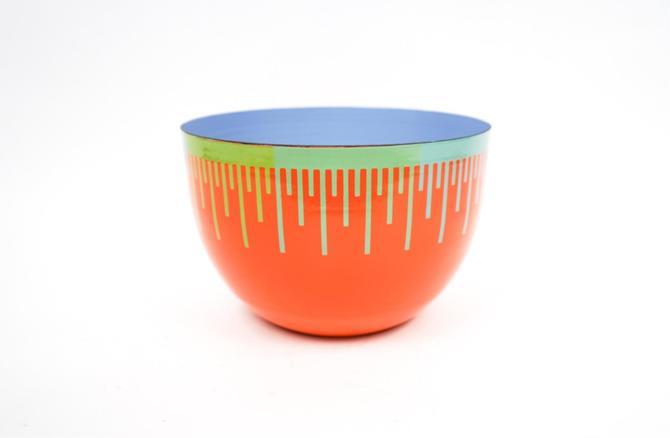 Richard Anuszkiewicz Op Art Enamel Bowl
