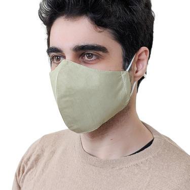 Raw silk face masks for wedding, Natural dye face masks for women elegant, Handmade plant dye silk mask men, Minimal dressy sage color mask by APattesDeVelours