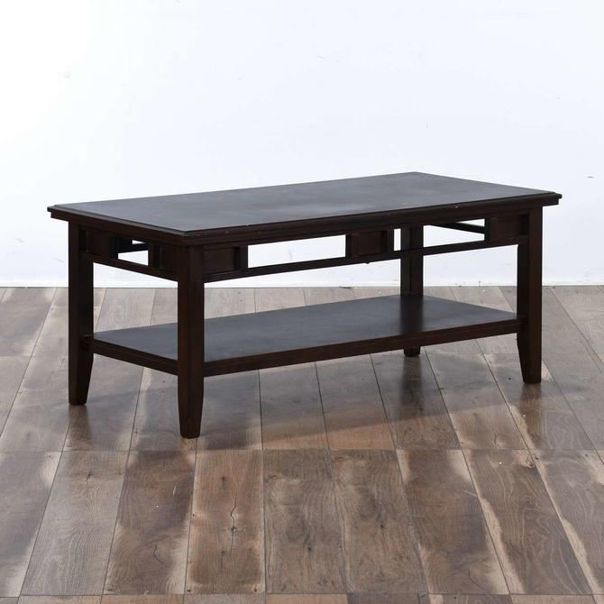 Contemporary California Craftsman Style Coffee Table