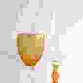 Amber Bicos Bicolor Goblet