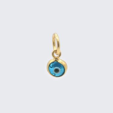 Light Blue Evil Eye Charm