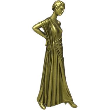 70s Statuesque Pin