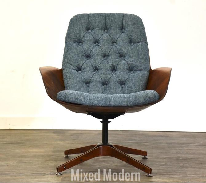 """George Mulhauser Plycraft """"Mrs"""" Lounge Chair by mixedmodern1"""