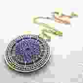Half Past Necklace [Big Ben Clock Tower]