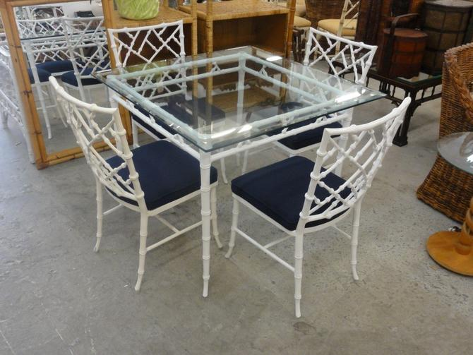 Phyliss Morris Faux Bamboo Chippendale Set