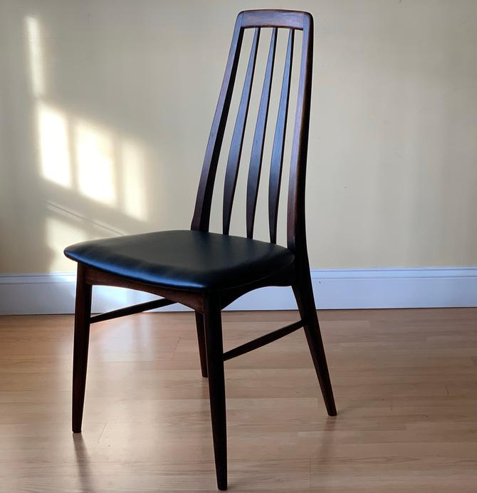 ONE Eva dining side Chair by Neils Koefoed rosewood by ASISisNOTgoodENOUGH