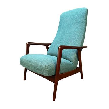 Vintage Scandinavian Mid Century Modern Dux Lounge Chair by Folke Ohlsson by AymerickModern