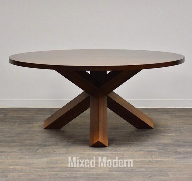 "Mario Bellini for Cassina La Rotunda 65"" Round Dining Table by mixedmodern1"