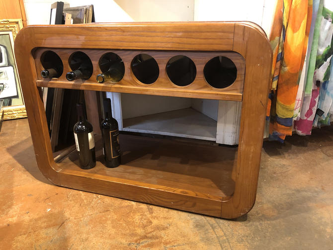 Mid Century Wine Rack by bcdrygoods