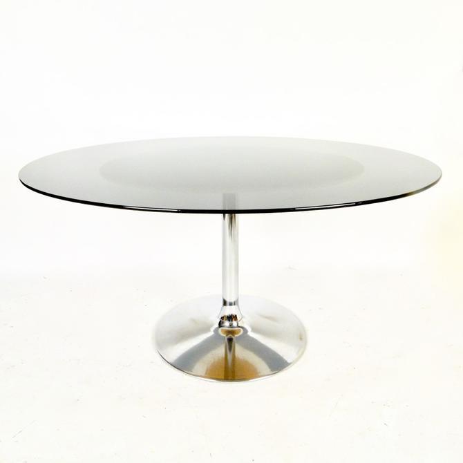 Chromecraft Pedestal Dining Table