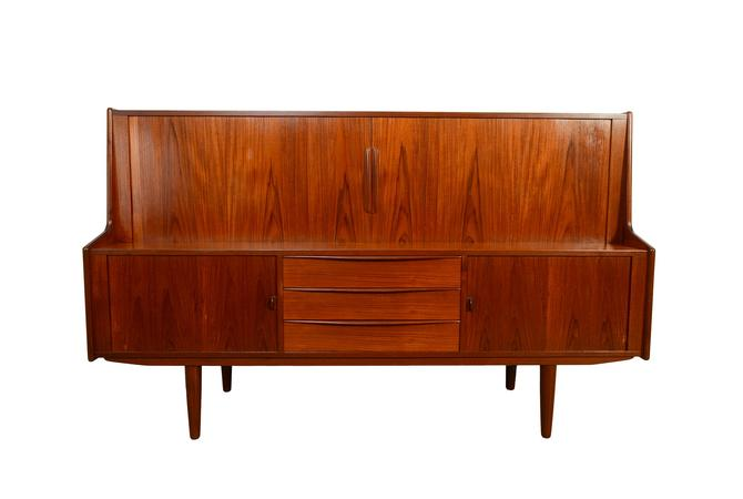 IB Kofod-Larsen highboard designed for Faarup Credenza Danish Modern by HearthsideHome