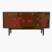 8-Drawer Drexel Walnut Dresser