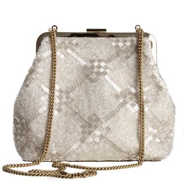 Clare Viver Beaded Crossbody Bag