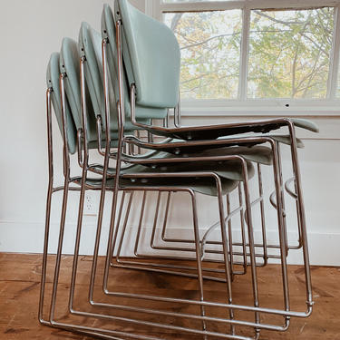Perry Stacking Chair, Read Description by VintageandSwoon