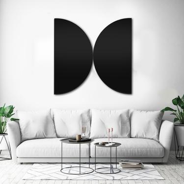 Geometric Wall Art, Wood Wall Art, Wall Sculpture, Modern Wall Art, Modern Home Decor, Scandinavian Art, Abstract Painting by LauraAshleyWoodArt