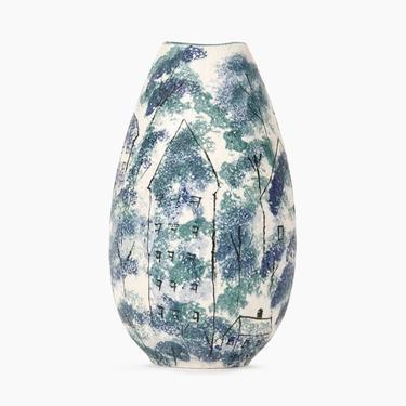 Holland Mold Ceramic Vase Vintage Fine Art Ceramics by VintageInquisitor