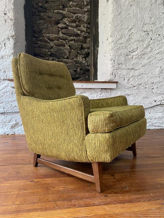 Mid century lounge chair Selig arm chair mid century Danish modern arm chair by VintaDelphia