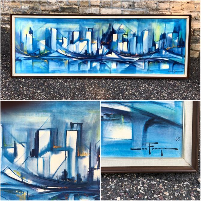 Turner Accessories Skyline Framed Print