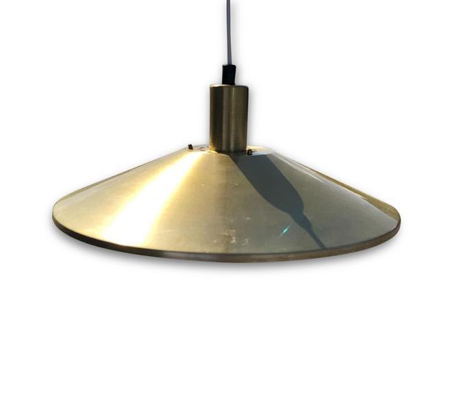 Vintage Danish Mid-Century Vitrika Brass Pendant Lamp by MCMSanFrancisco