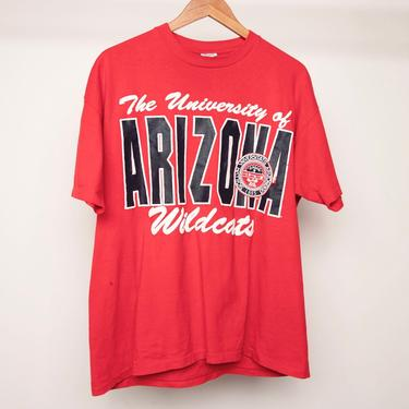ARIZONA WILDCATS college basketball 1988 FINAL four t-shirt vintage athletic -- men's size extra large by CairoVintage