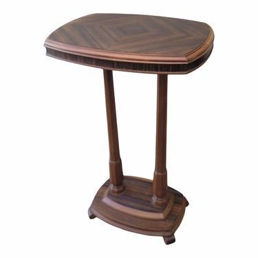 SOLD - Vintage Federal Empire Style Pedestal Side Table