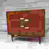 Midcentury Petite Dresser Bachelor Chest