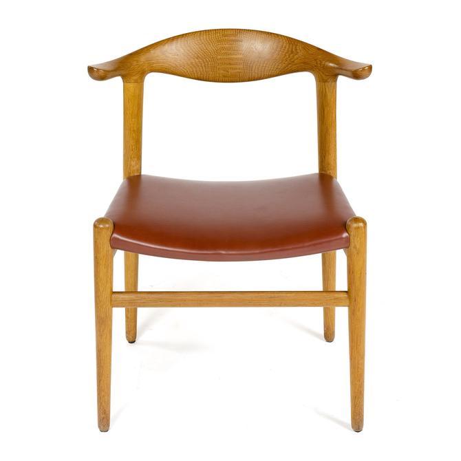 Oak Cow Horn Chair