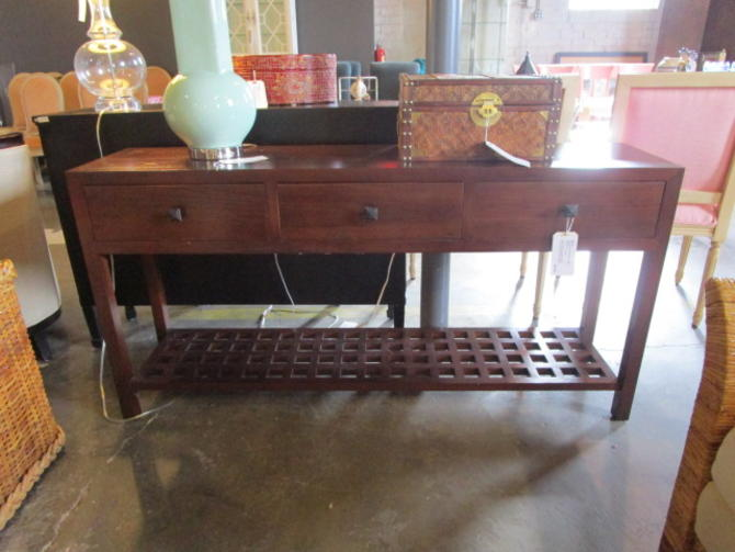 ROOM AND BOARD CONSOLE TABLE