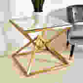 Occasional Brass Cocktail Table