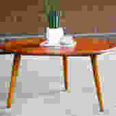 Hans Wegner AT-8 Teak Cocktail / Coffee Table $1500