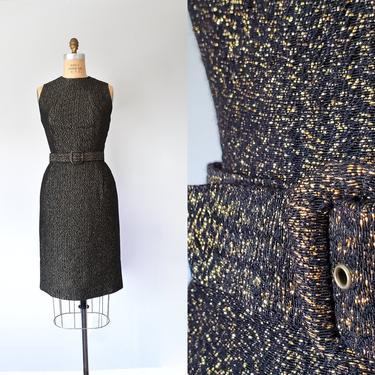 Betty lurex 1960s dress, mad men sexy dress, pinup 60s dress, marilyn monroe by ErstwhileStyle