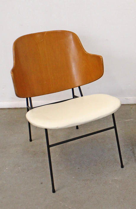 Vintage Mid-Century Danish Modern IB Kofod Larsen Selig Penguin Accent Chair by AnnexMarketplace