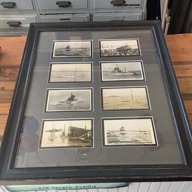 Postcards, unused, depicting submarines circa 1910